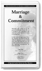 Marriage & Commitment - 3 CDs