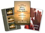 Understanding Cancer 4-CD Pack and Book Cure Stress:  How Your Mind Will Make You Well